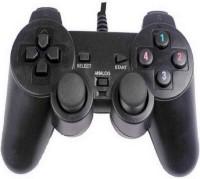 Shopfloor.XYZ 2 Way Vibration PC USB Controller Gamepad (Black, For PC)  Gamepad(Black, For PC)