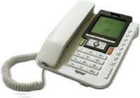 View Prro Landline Phone JHPB-01 Corded Landline Phone(White) Home Appliances Price Online(Prro)