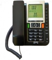 View Prro Landline Phone JHPB-09 Corded Landline Phone(Black) Home Appliances Price Online(Prro)