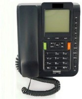 View Prro Landline Phone JHPB-10 Corded Landline Phone(Black, Silver) Home Appliances Price Online(Prro)