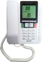 View Prro Landline Phone JHPB-02 Corded Landline Phone(White) Home Appliances Price Online(Prro)