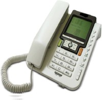 View Prro Landline Phone JHPB-05 Corded Landline Phone(White) Home Appliances Price Online(Prro)