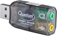 QHMPL QHM623 3D Virtual 5.1 USB Audio Controller SOUND CARD (Integrated 2 channel) USB Adapter(Black)