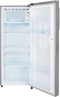 Haier 220 L Direct Cool Single Door 4 Star Refrigerator(Silver Vivid, 2204BS-R)