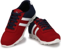 Kashnar From Neso Casual Sneaker Shoes Training & Gym Shoes For Men(Red, Blue)