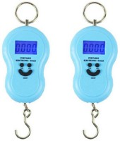 Chandrakala Smiley |Pack of 2| Digital Electronic Measuring Weighing Scale(Blue)