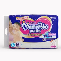 MamyPoko Pants - L(46 Pieces)