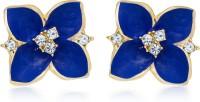 Luxor Fashionable Diamond Alloy Stud Earring