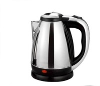 Bluebells India ™Pour Over Drip Coffee and Tea, ater Boiler Cordless Stainless Steel Tea Heater with Auto Shut Off & Boil Dry Protection™ Electric Kettle(1.8 L, Silver)