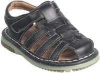 Action Boys Velcro Sports Sandals(Black)