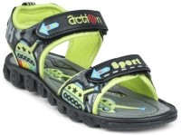Action Boys Velcro Sports Sandals(Green)