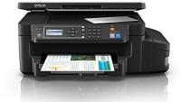 Epson L605 Multi-function WiFi Color Printer(Black, Ink Tank)