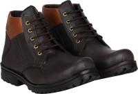 Bachini Cowboy Boots Boots For Men(Brown)