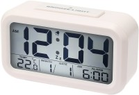 BonZeal Digital White Clock