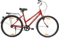 BSA LADYBIRD Velona 26 T Girls Cycle/Womens Cycle(Single Speed, Red, White)