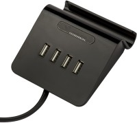 BENISON INDIA Call one Mobile Charging Table Top Dock with 4 charging USB HUB(3.1A Output) Dock(Black)