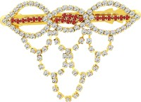 MJ Fashion Jewellery Eye-catching Hair Clip(Gold) - Price 340 80 % Off