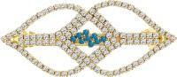 MJ Fashion Jewellery Smoky Hair Clip(Gold) - Price 340 80 % Off
