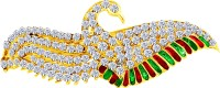 MJ Fashion Jewellery Striking Hair Clip(Gold) - Price 340 80 % Off