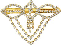 MJ Fashion Jewellery Subtle Hair Clip(Gold) - Price 340 80 % Off