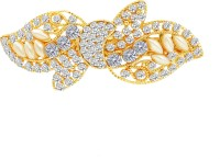 MJ Fashion Jewellery Fashionable Hair Clip(Gold) - Price 340 80 % Off
