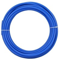 Morning Star Technology RO Reverse Osmosis Water Filter Food Grade 10 Meters Length Blue Color Tube/Pipe 1/4