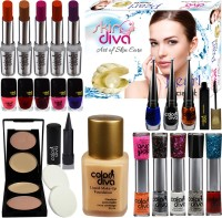Color Diva Festive Speciality Big Pack Combo Makeup(Set of 23) - Price 999 77 % Off
