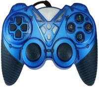 Shopfloor.XYZ Button USB 2.0 Game Controller For PC (USB-GAMEPAD)  Gamepad(Blue, For PC)