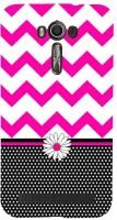 CHAPLOOS Back Cover for Asus Zenfone 2 Laser ZE550KL(Pink, Plastic)