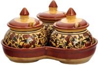 Craftghar Pickle Jar Set for dinning table 10 Piece Sauce Set(Ceramic)