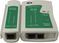 EXPERTRONICS Network Cable Tester RJ45 RJ11 RJ12 Cat5 Detachable Portable Multifunction LAN Networking Cable Testing Tool Kit Network Interface Card(White)
