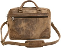 Craft Play Handicraft 16 inch Laptop Messenger Bag(Brown)