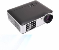 PLAY PLAY 5500 lumens Full HD, HDMI, USB Portable 1920 x 1080P, 3D LED Projector Corded Portable Projector (Black) 5500 lm LED Corded Portable Projector(Black)