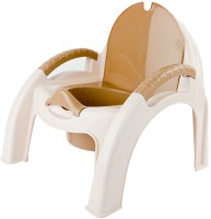 Baybee Alexa Premium Baby Potty Training Chair with Covering Lid Potty Seat(Brown)