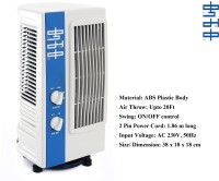 View KUMAKA Oscillating Air Fresh 180 Degree Revolving Base Tower Air Cooler(White, Blue, 0 Litres) Price Online(KUMAKA)