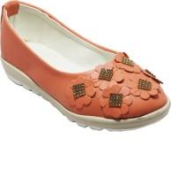 easysteps Girls Slip-on Flats(Pink)