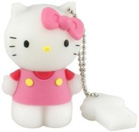 View Microware Hello Kitty Shape Designer 8 GB Pen Drive(Pink, White) Price Online(Microware)