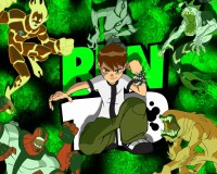 Ben 10 Animation Poster Paper Print(12 inch X 18 inch, Rolled)