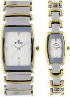 Titan 13772385BM01 Bandhan Analog Watch For Couple