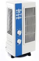 View KUMAKA Mini Oscillating Multipurpose Tower Air Cooler(White & Blue, 0 Litres) Price Online(KUMAKA)