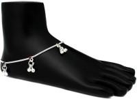 Womens Trendz Womens Trendz Handmade Silver Plated Fine goap Nakewali anklet/Ghungroo Painjan for Women and Girls Alloy Anklet