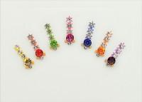 Crystal Bindi04 Ladies, Girls Multicolor Bindis(Fancy Bindi) - Price 99 50 % Off