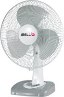 View ibell 3 Leaf 55W 3 Blade Table Fan(White) Home Appliances Price Online(iBELL)