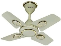 View oreva palash 4 Blade Ceiling Fan(ivory) Home Appliances Price Online(Oreva)