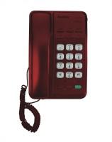 View Sonics HT-913 MAROON Corded Landline Phone(Maroon) Home Appliances Price Online(Sonics)