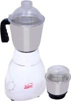 Silver Home Dlex 450 Mixer Grinder(White, 2 Jars)