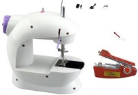 View Bluebells India ™stapler machine with Multi-functional Powered with Battery or AC 220V Power 50Hz Mini Portable Electric Sewing Machine( Built-in Stitches 1) Home Appliances Price Online(Bluebells India)