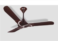 View Orient CURL 3 Blade Ceiling Fan(MATELIC BROWN SILVER) Home Appliances Price Online(Orient)