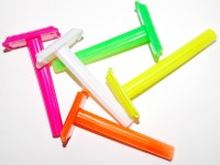 KONIT Plastic Multicolour Shaving Razor (Without Blade)(Pack of 5)