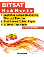 BITSAT Rank Booster + BITSAT Online Test Series - 50% Discount Coupon Scratch Card By Career Point, Kota (Paperback, Career Point Kota, CP Editorial)